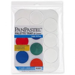 PAlette Tray & cover PanPastel 10 Pans