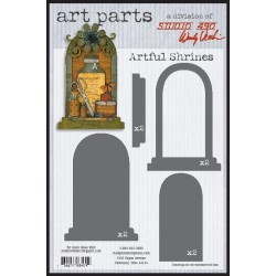 Artful Shrines Art Parts Chipboard Studio 490 Wendy Vecchi