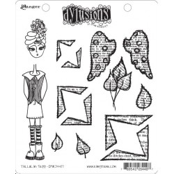 Tallulah Tripp Dyan Reaveley's Dylusions Cling Stamp