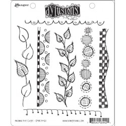 Around The Edge Dyan Reaveley's Dylusions Cling Stamp