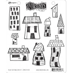 Right Up Your Street Dyan Reaveley's Dylusions Cling Stamp