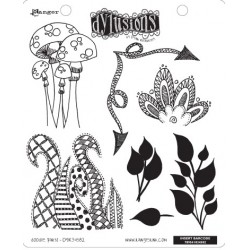 Doodle Parts Dyan Reaveley's Dylusions Cling Stamp