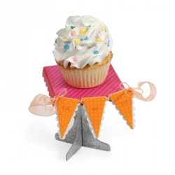 Cupcake Stand & Pennant Sizzix Bigz Extra Long
