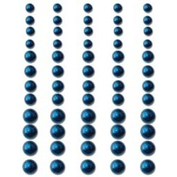 Brilliant Blue Pearls Adhesive 60/Pkg