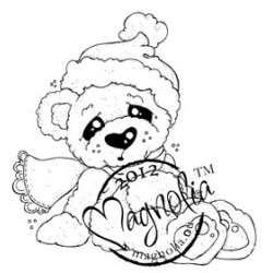 Cozy Christmas Bear - LC12