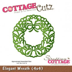 Elegant Wreath CottageCutz