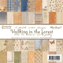 "Walking in the forest 6""x6"" Maja Design"