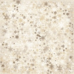 "Snowflakes 12""x12"" It's Christmas Time Maja Design"