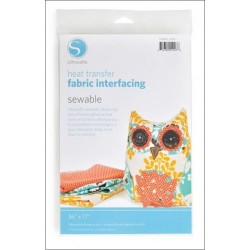 Sewable Fabric Interfacing Silhouette