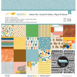 "Amy Tangerine Ready Set Go Collection Pack 12"" x 12"""