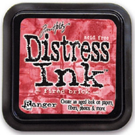 Distress Ink Fired Brick
