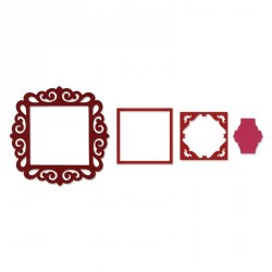 Frame Fancy Square Framelits Sizzix