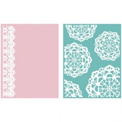 Doily Embossing Folders Lifestyle Crafts