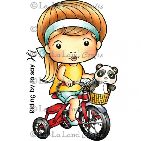 Tricycle Marci La-La Land Cling Mount