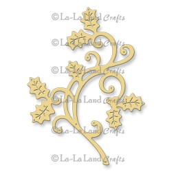 Holly Flourish Die La-La Land Crafts