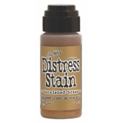 Tarnished Brass Metallic Distress Stain