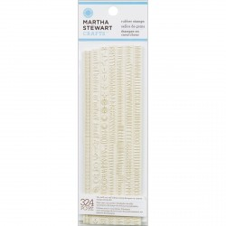 Condensed Sans Alpha Rubber Stamps Martha Stewart