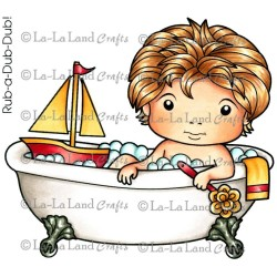 Bath Time Luka La-La Land Cling Mount