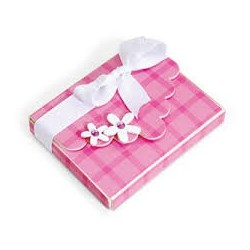 Box With Scallop Flap & Flowers Sizzix ScoreBoards XL Die