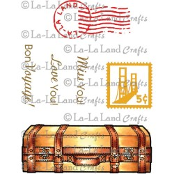 Suitcase La-La Land Cling Mount