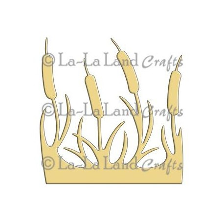Cattails Die La-La Land Crafts