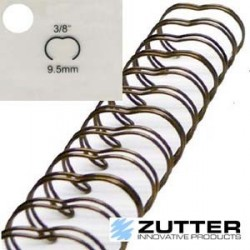 "3/8"" Antique Brass Wire 6 pc"