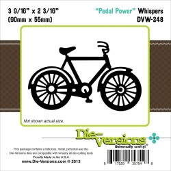 Pedal Power Whispers Die Die-Versions