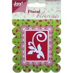 Floral Flourishes Swirl Joy! Craft