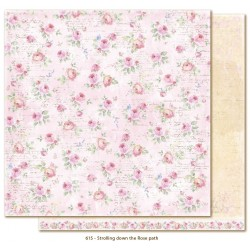 "Strolling down the Rose Path 12""x12"" Sofiero Collection Maja Design"