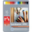 16 Couleurs Luminance 6901 Caran D'Ache