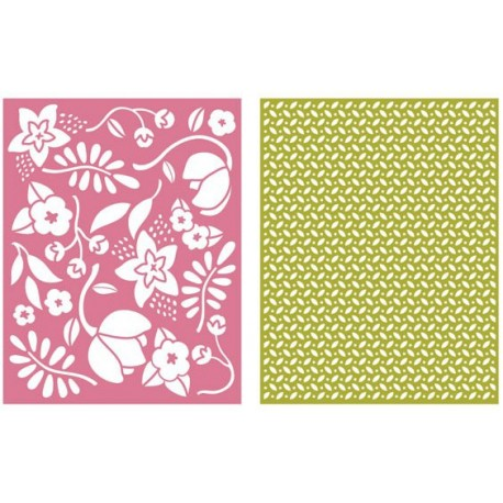 Wild Flower Embossing Folders Lifestyle Crafts