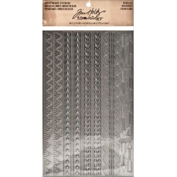 Industrious Stickers Borders Idea-Ology by Tim Holtz
