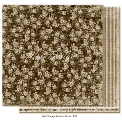 "no.XVII 12""x12"" Vintage Autumn Basics Maja Design"