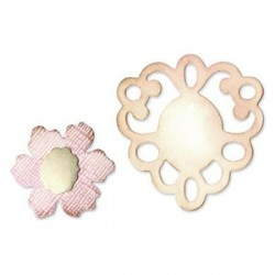 Frame & Sculpted Flower Sizzix Originals Medium Die
