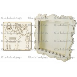 Tea Garden Shadow Box Kit La-La Land
