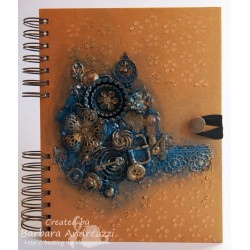 Mixed Media Journal by Finnabair Prima Marketing