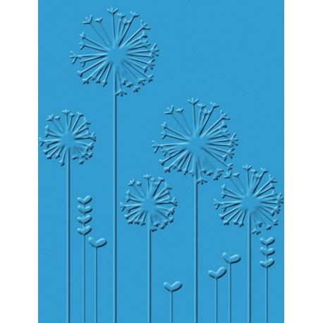 Dandelion Whisper Craft C. Embossing Folder
