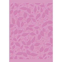 Christmas Vine Craft C. Embossing Folder