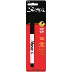 Black Ultra Fine Permanent Marker Sharpie