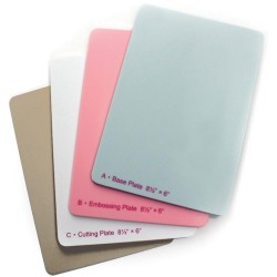 "Junior Replacement Plates 8,5""x6"" Grand Calibur Spellbinders"