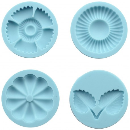 Graceful Bloom Martha Stewart Crafter's Clay Silicone Molds