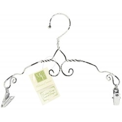 "Decorative Scroll Clip Hanger 8"" Melissa Frances"