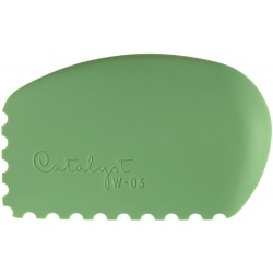 Green W-03Catalyst Silicone Wedge Tool