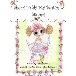Arty Annie Clear Rubber Stamp My Besties