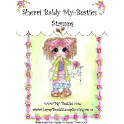 Crafty Clair Clear Rubber Stamp My Besties