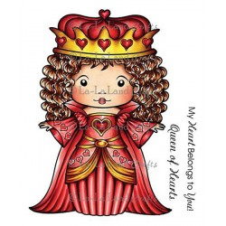 Queen Of Hearts Marci La-La Land Cling Mount