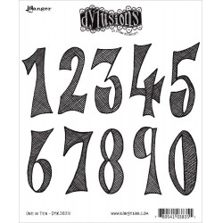 One In Ten Dyan Reaveley's Dylusions Cling Stamp