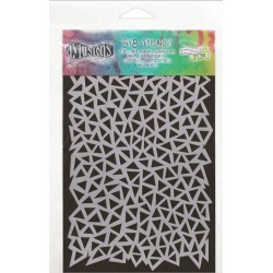 """Triangles Small Dylusions Stencil 5""""x8"""" Dyan Reaveley"""