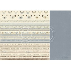 "Borders 12"" x 12"" Shoreline Treasures Pion design"