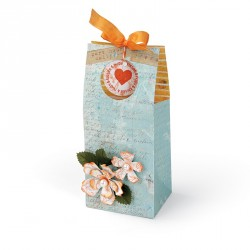 Bag Treat w Windows & Flowers Sizzix Bigz Pro Die